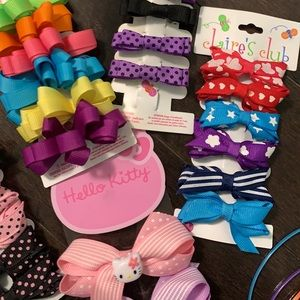 CLAIRES HAIR CLIPS